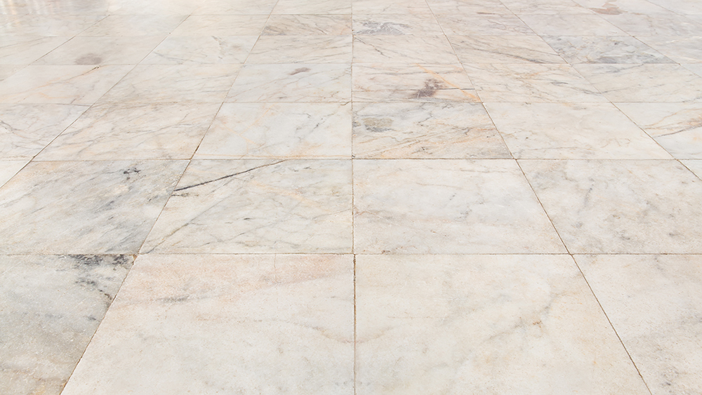 Picture of marble floor tiles